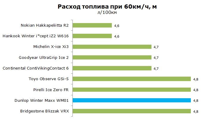 Тест Данлоп Винтер Макс ВМ01, обзор шины
