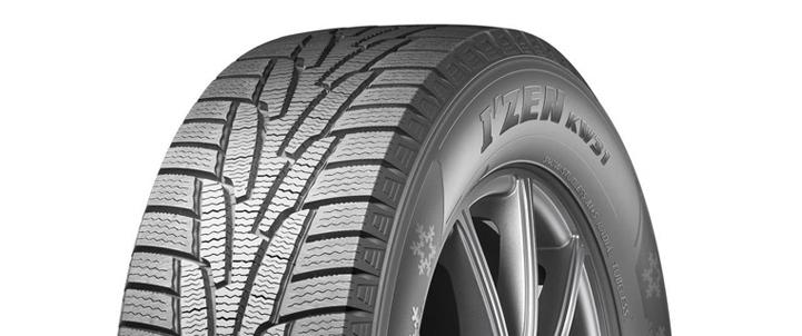 kw31 - Тест нешипуемых зимних шин